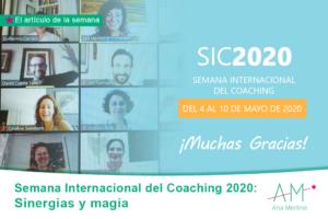 semana internacional del coaching 2020 ana merlino